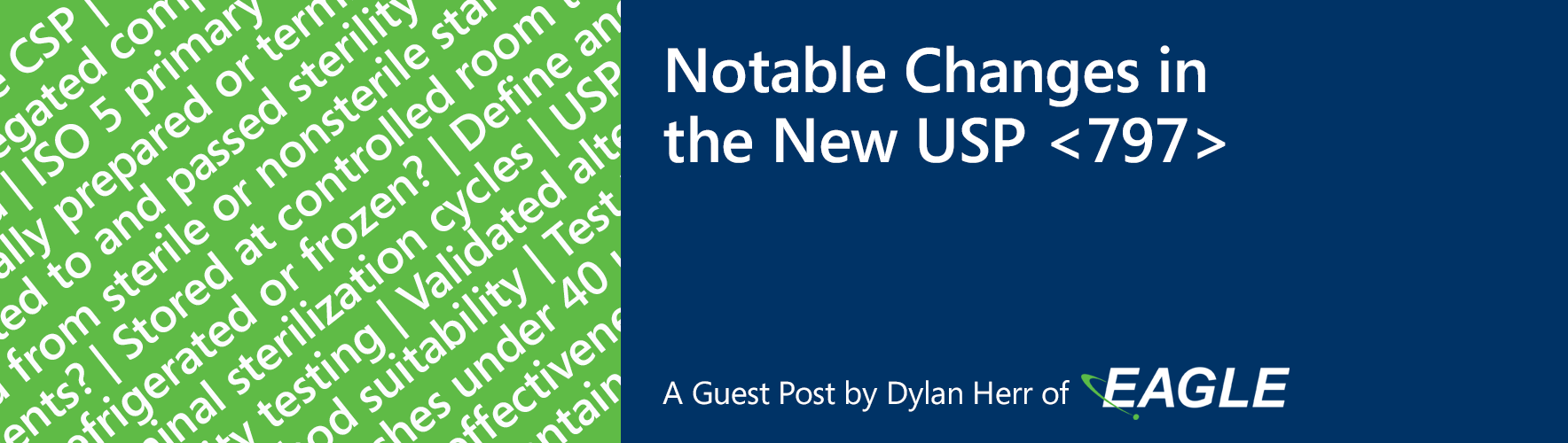THE PCCA BLOG | Notable Changes in the New USP <797>